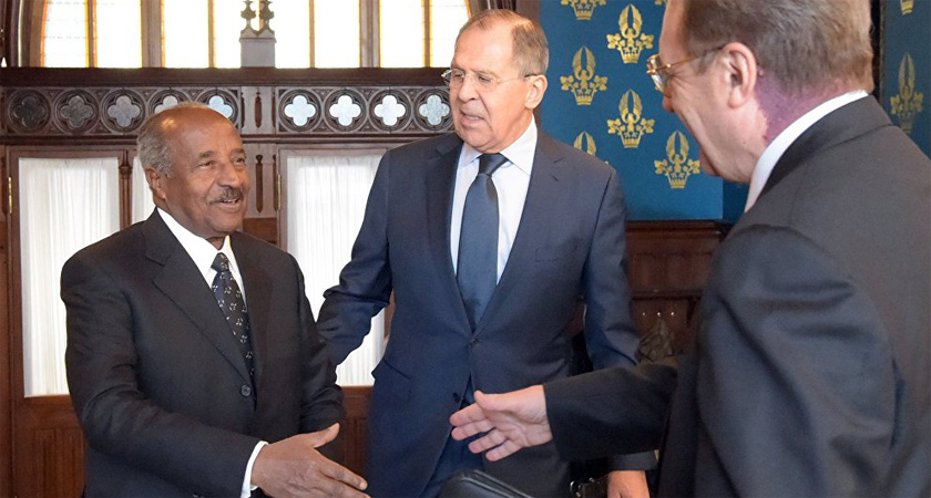 Russia and Eritrea have expanded their bilateral relationship