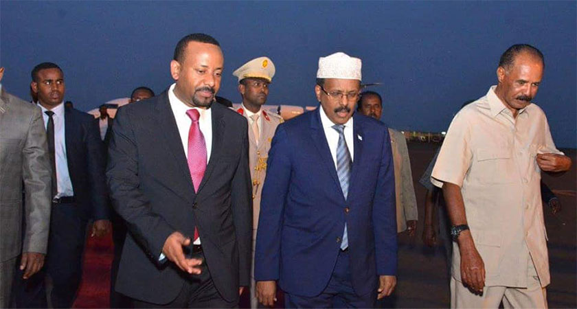 Eritrea's commitment toward a lasting peace with Ethiopia or the region is not a recent or new development