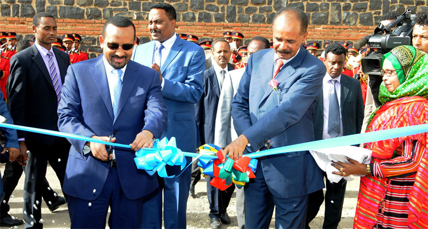 Ethiopian Embassy in Eritrea Reopened