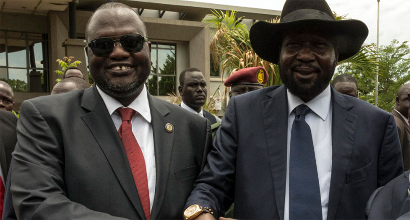 Warring South Sudan leaders sign peace deal