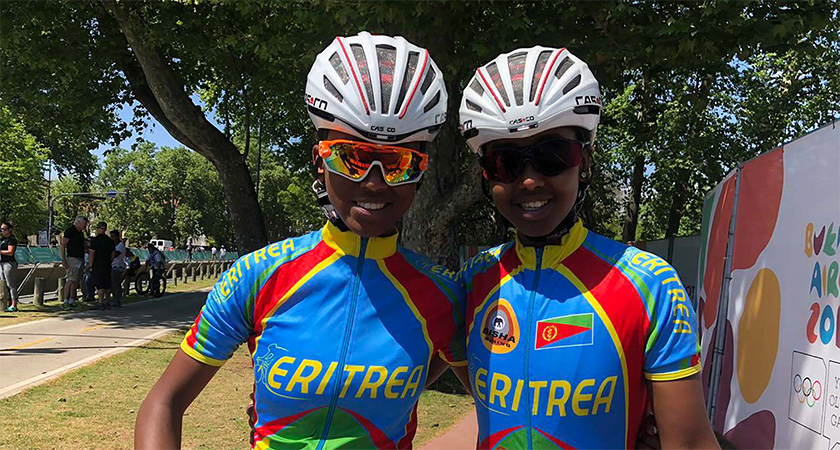 Eritreans Celebrate their Passion for Cycling in Buenos Aires