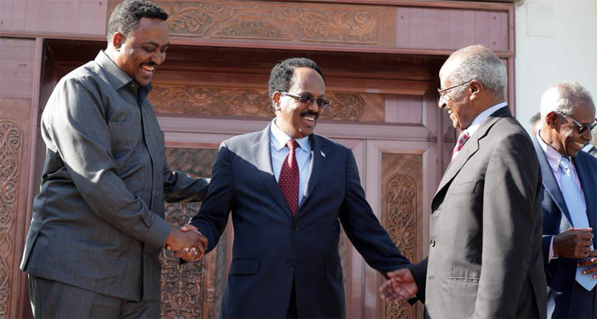 Initiating the first trilateral cooperation between Eritrea, Ethiopia and Somalia.