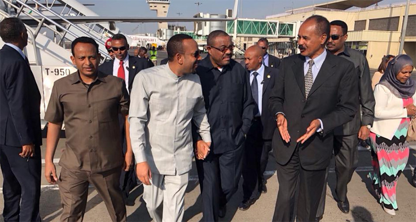 President Isaias Back to Ethiopia for Another Visit