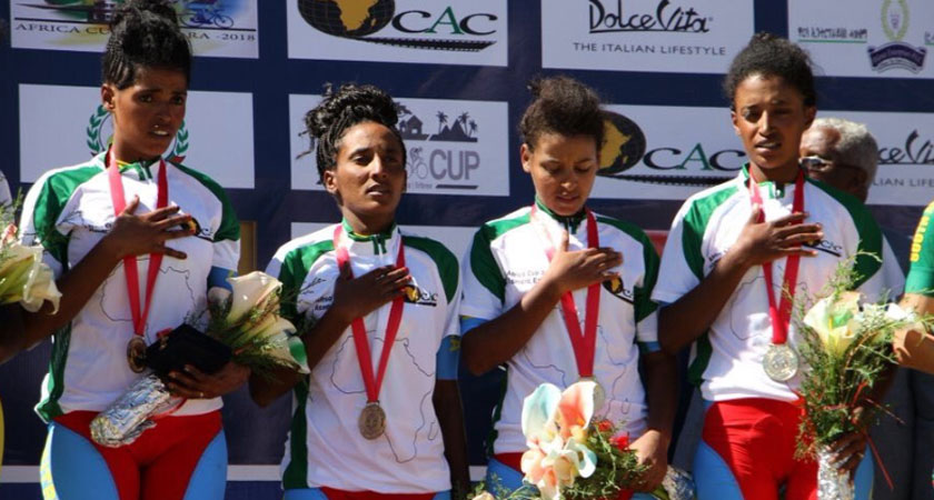Eritrean Cycling team won the African Cycling Cup 2018