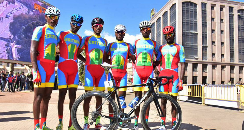 Eritrea Wins African Cycling Cup 2018