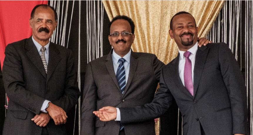 Tripartite Summit between Leaders of Eritrea, Somalia and Ethiopia