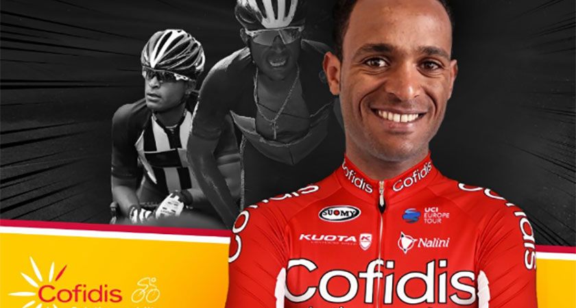 Natnael Berhane Preparing for Tour de France 2019