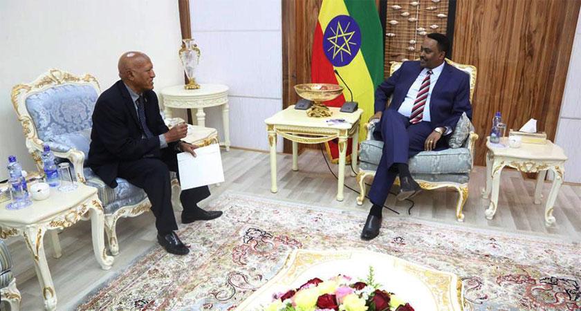 New Eritrea Ambassador to Ethiopia Present Credentials
