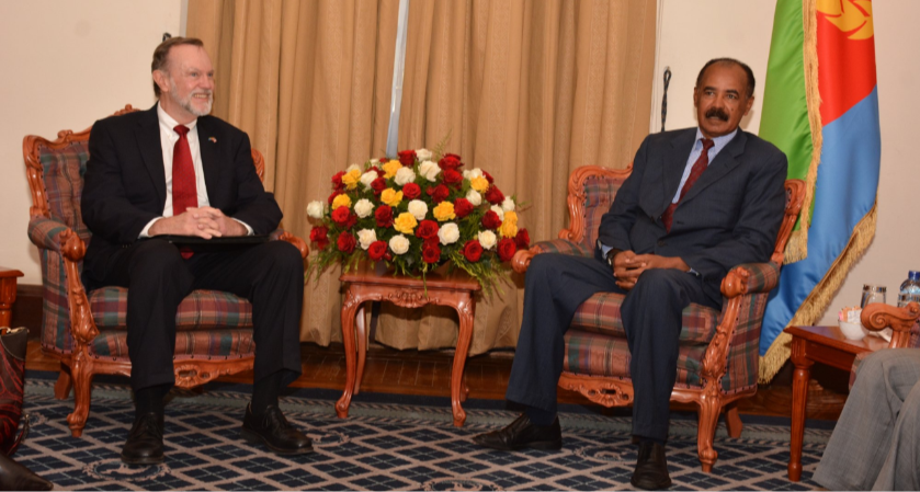 Top U.S. Envoy Reiterates Decision to Strengthen Ties with Eritrea
