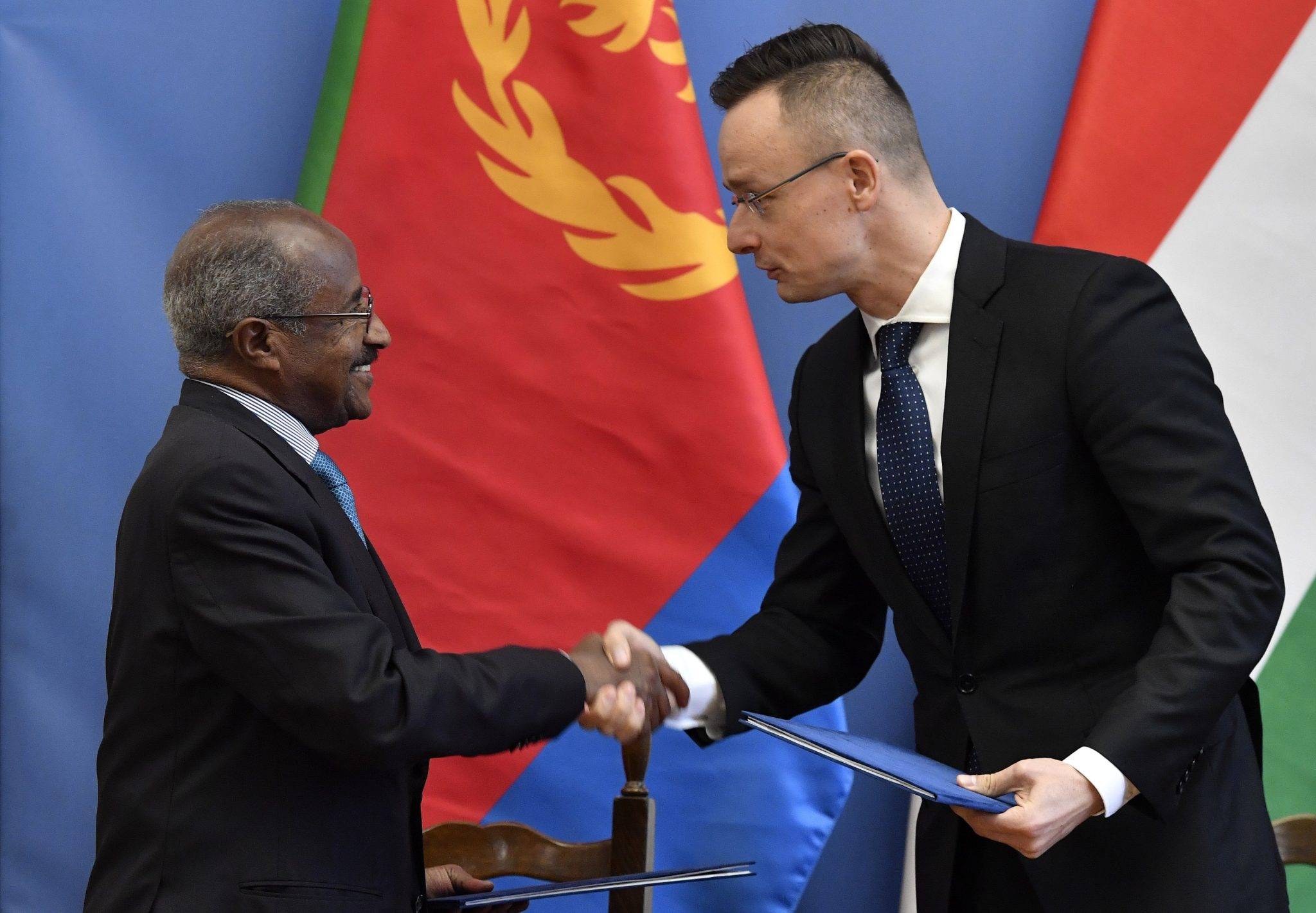Eritrea and Hungary sign economic and technical cooperation framework agreement