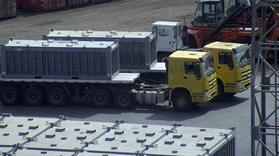 Truck Transport of Rotainers
