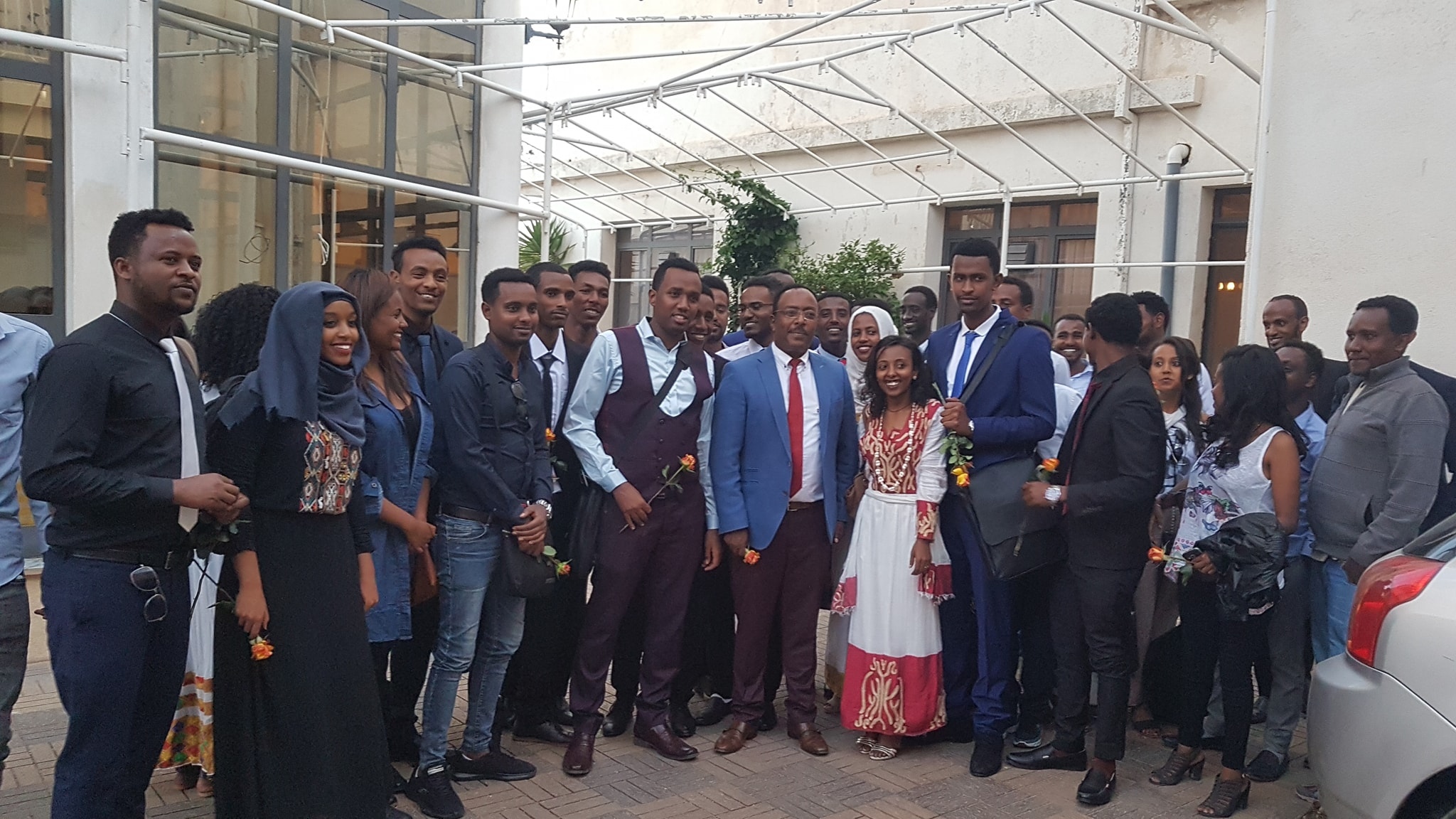 Farewell - Ethiopian Doctors who come to deliver a two-month voluntary service in Eritrea