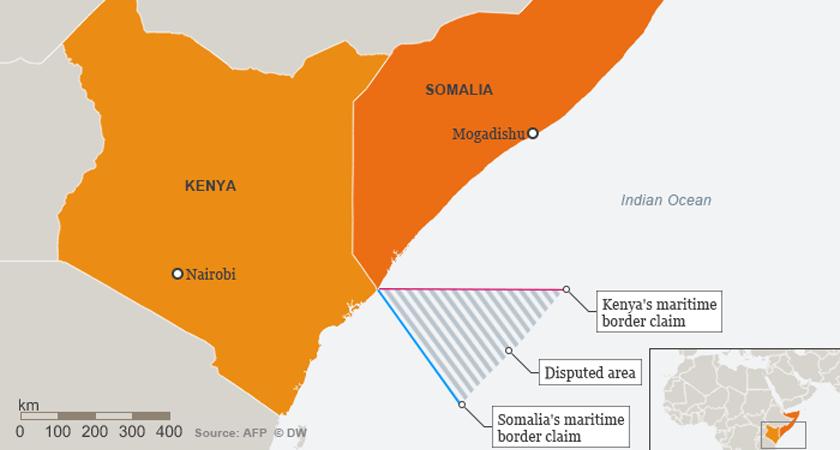 Kenya Somalia Maritime dispute