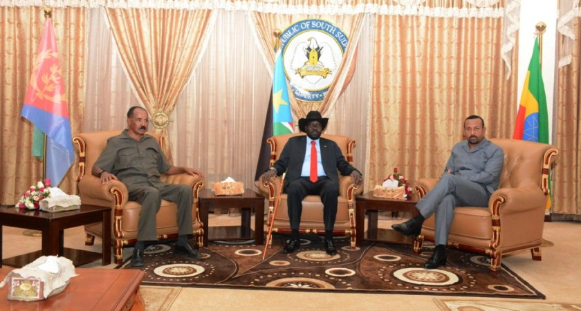 Eritrea, Ethiopia Leaders Paid One-Day Visit to South Sudan