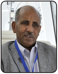 Tedros Yehdego, Director of the National Immunization Program at the Ministry of Health, Eritrea
