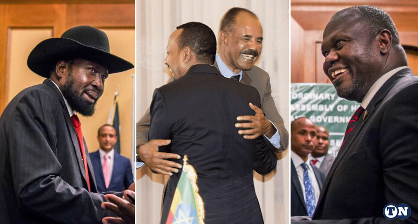 Is there anything that President Salva Kiir and Riek Machar could learn from PM Abiy and President Isaias to get their house in order?