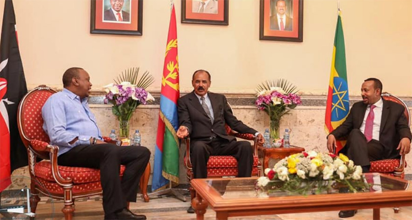 Kenya, Ethiopia Leaders in Eritrea for Tripartite Summit