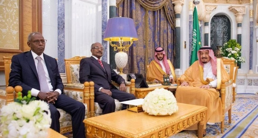 Eritrean Delegation Held Talks with Saudi FM