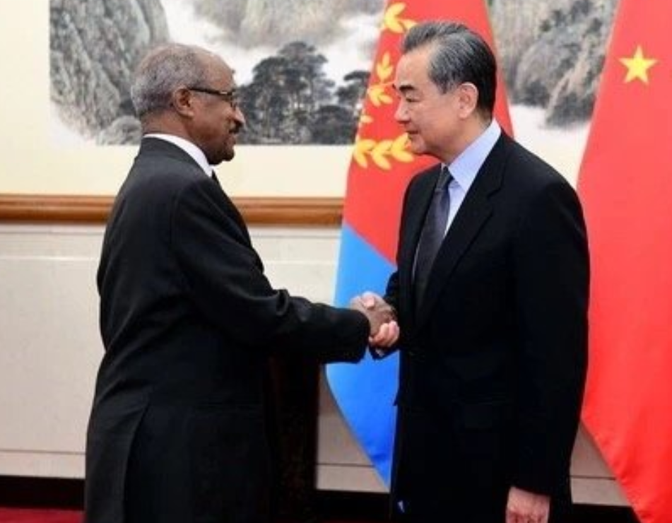 Eritrea and China stand ready to build a healthy & strong partnership for the benefit of their two peoples