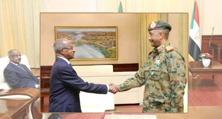 Eritrea and Sudan reaffirm solidarity