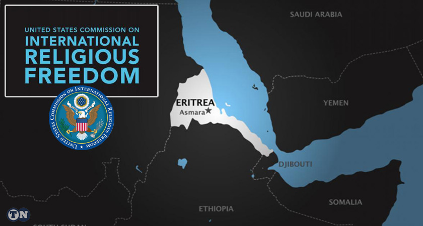 USCIRF released its annual 2019 Report on Eritrea, once again based on dubious sources.
