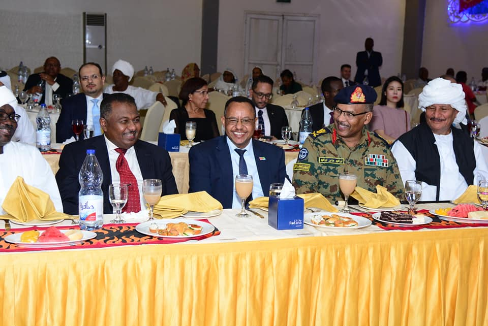 Sudanese Military Transitional Council (TMC) present in the Eritrean Independence day celebration