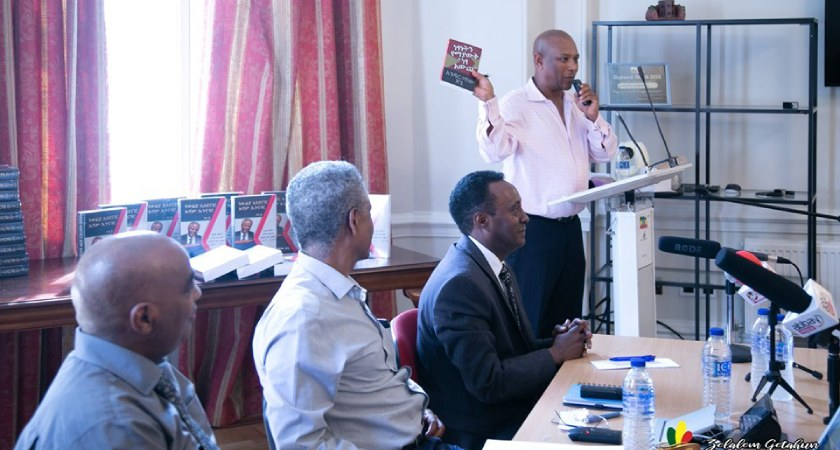 Andargachew Tsege book launch