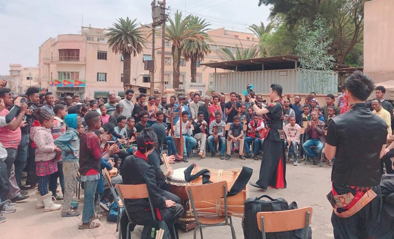 The peaceful, 'good old japan' is here in Eritrea