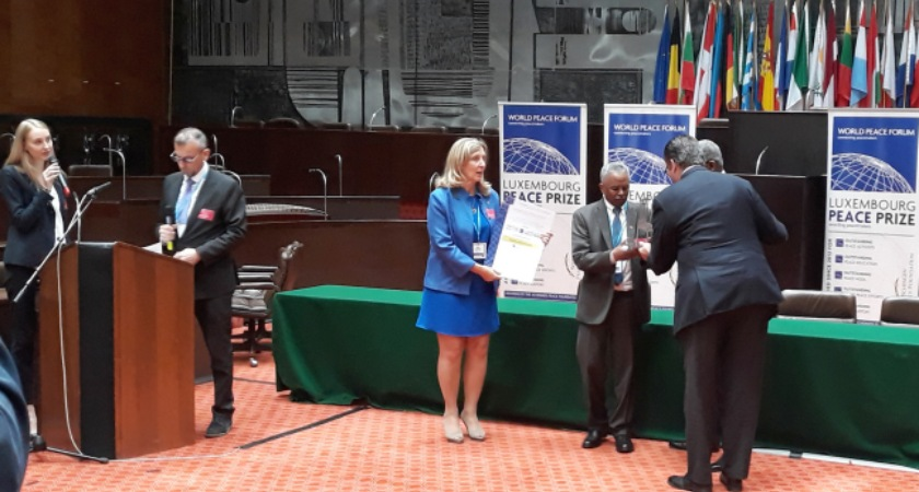 Eritrea, Ethiopia Conferred With Luxembourg Peace Award