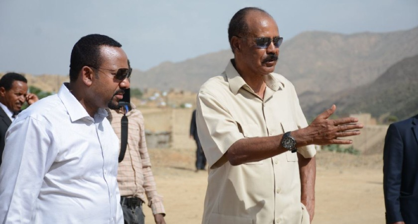 Eritrean President Isaias Afwerki criticized the polarization of Ethiopians along ethnic lines - ethnic federalism
