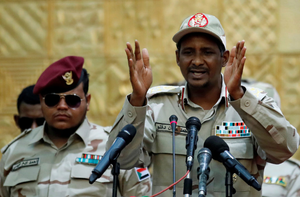 Sudan's  Military Council and the opposition agree on a presidential council of six civilians and five military with a rotating President