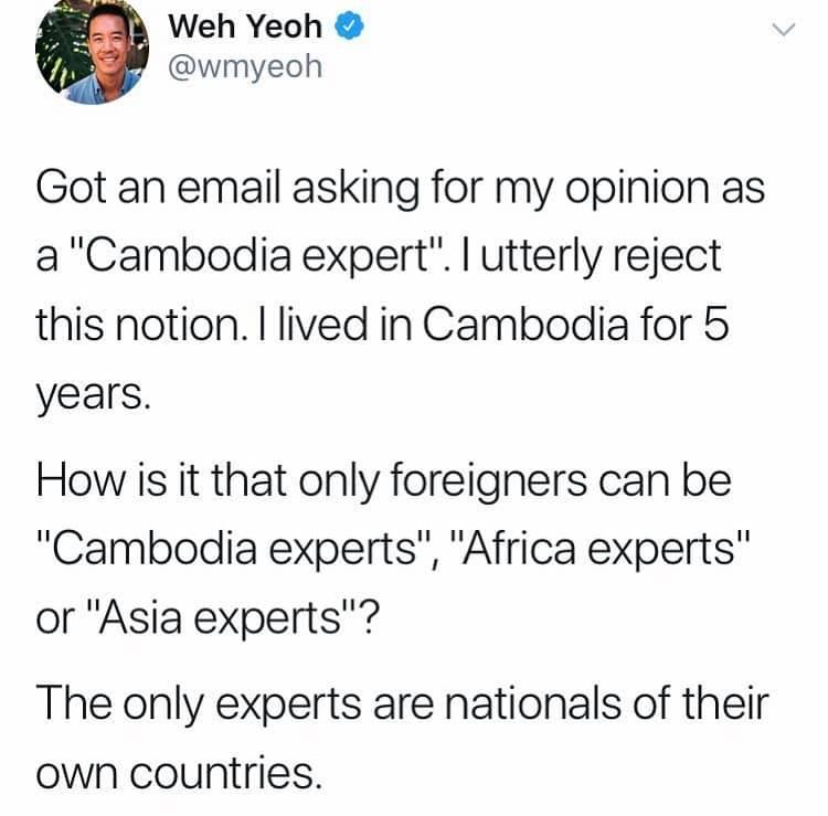 Cambodia expert