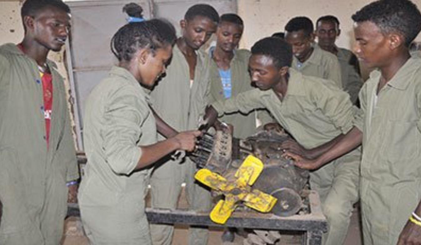 Sawa - Giving students a second chance to pursue their academic career through hands-on training.