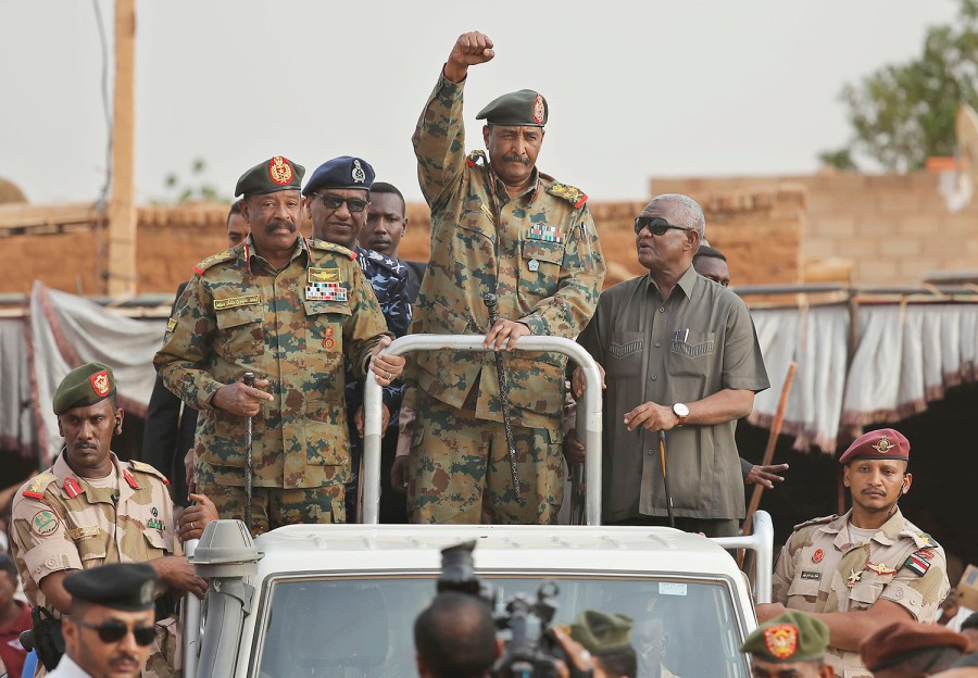 Sudan's ruling military council has foiled a coup attempt