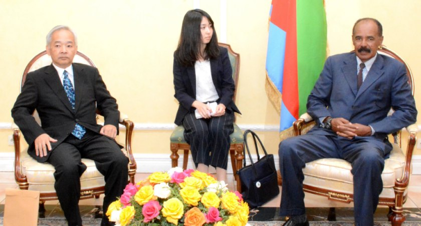 Japanese delegation reiterate readiness to promote and consolidate development cooperation with Eritrea