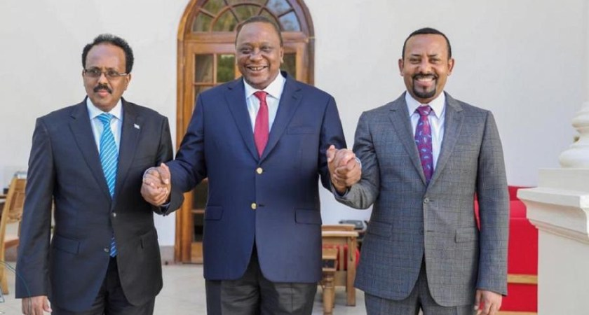 Ethiopia and Kenya, are in a tussle for influence over Jubaland's next president