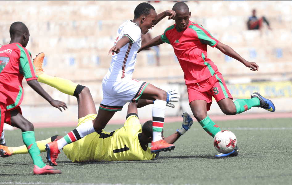 cecafa u15 Burundi 1-1 Kenya
