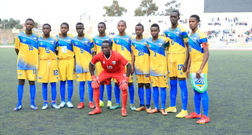 Rwanda's CECAFA U-15 team