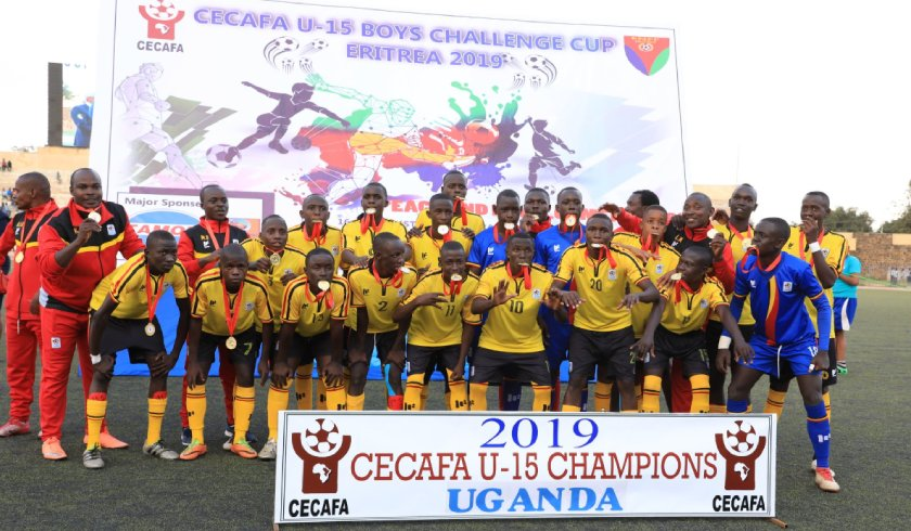Uganda becomes the first team to win the inaugural CECAFA U-15 Championship.