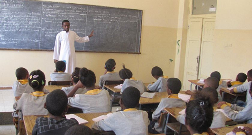 26 schools including 5 preschools, are being constructed in the nine sub zones of Northern Red Sea region.