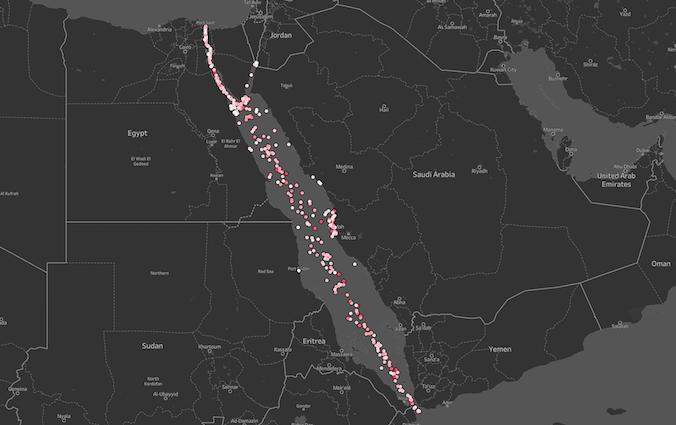 superyacht migration map