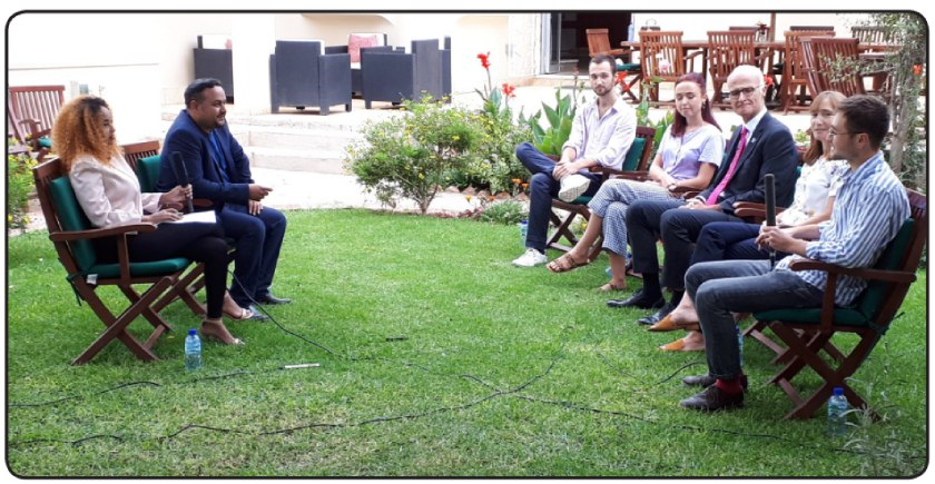 Interview with the British Ambassador to the State of Eritrea, Alisdair Walker and his family
