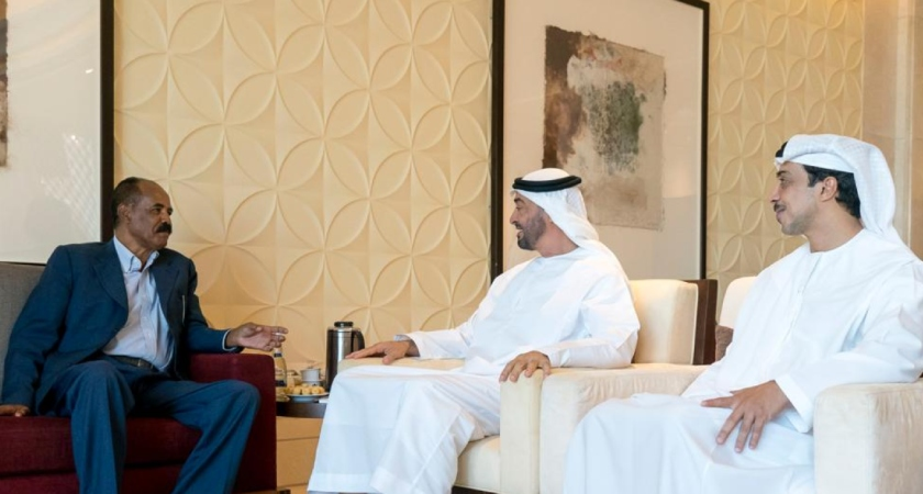 Eritrean President Held Talks with UAE Leaders