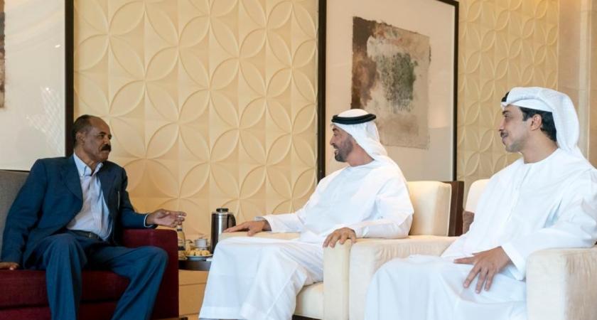 Eritrean President Held Talks with UAE Leaders