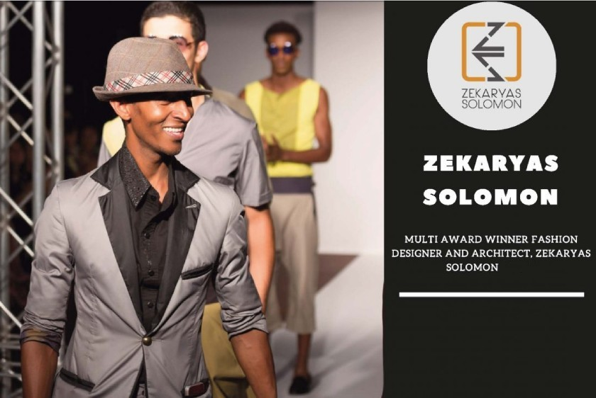 How did Zekaryas Solomon manage to mix architecture with fashion?