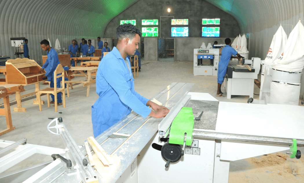 Sawa is a center for education, military and vocational training for the Eritrean youth