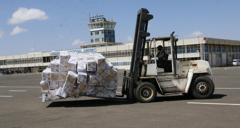 UNICEF Vaccines arrived Eritrea