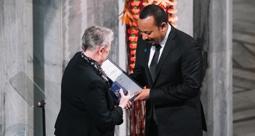 Prime Minister Abiy Ahmed Receives the Nobel Peace Prize