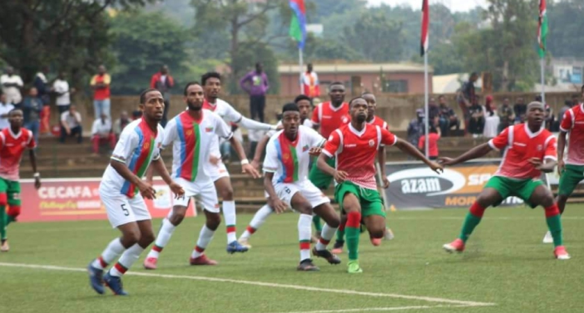 First victory for team Eritrea at the ongoing CECAFA Senior Challenge cup in Uganda over Burundi