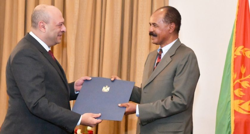 President Isaias Receives Credentials of 29 Ambassadors